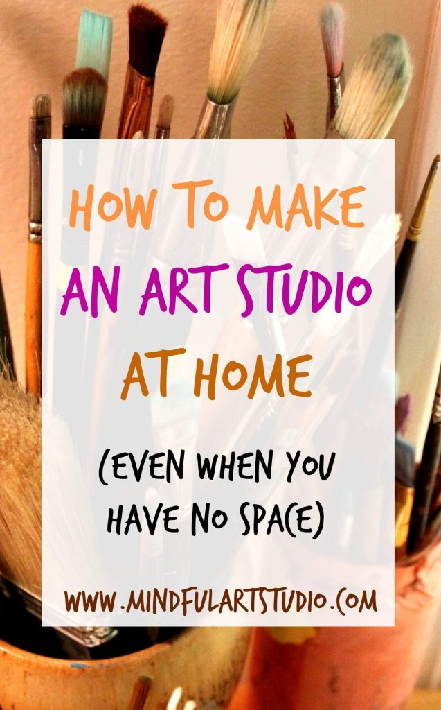12 ways to make an art studio at home. Black Bedroom Furniture Sets. Home Design Ideas