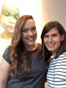 Ali Cavanaugh with Amy Maricle. Art by Ali Cavanaugh