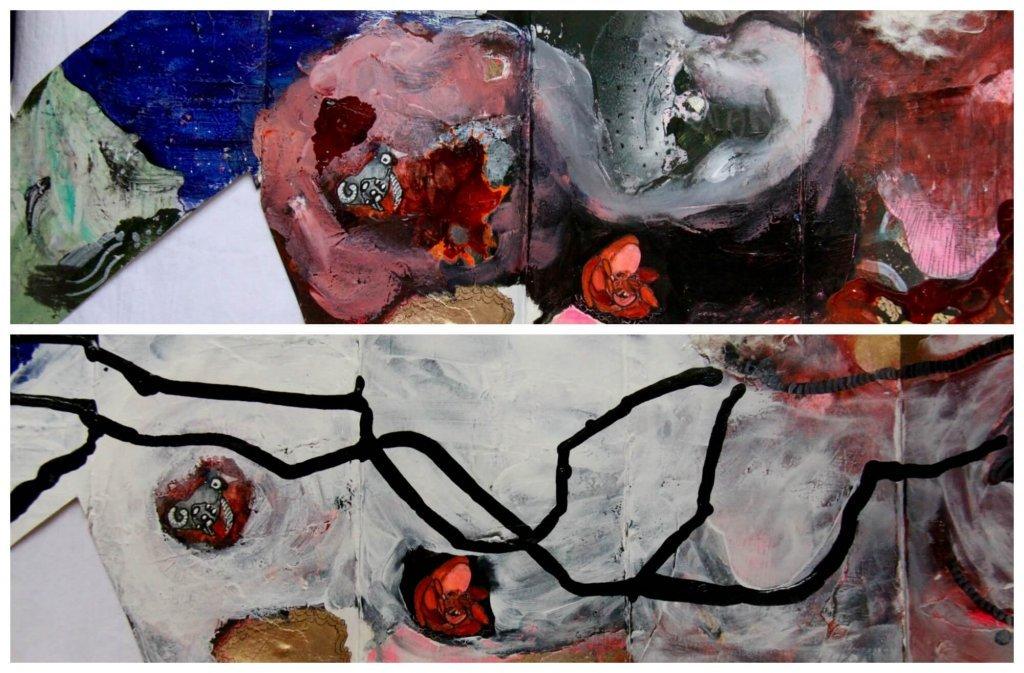 Shared Journal Collage Evolution