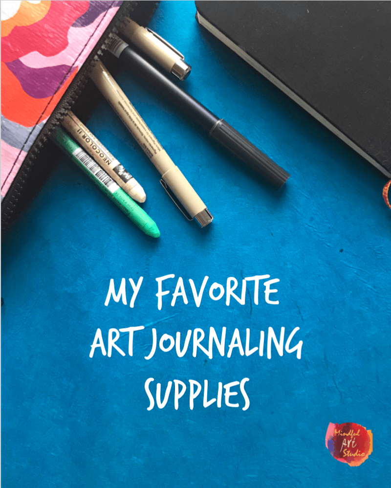 art journaling supplies, supplies for art journaling, how to art journal