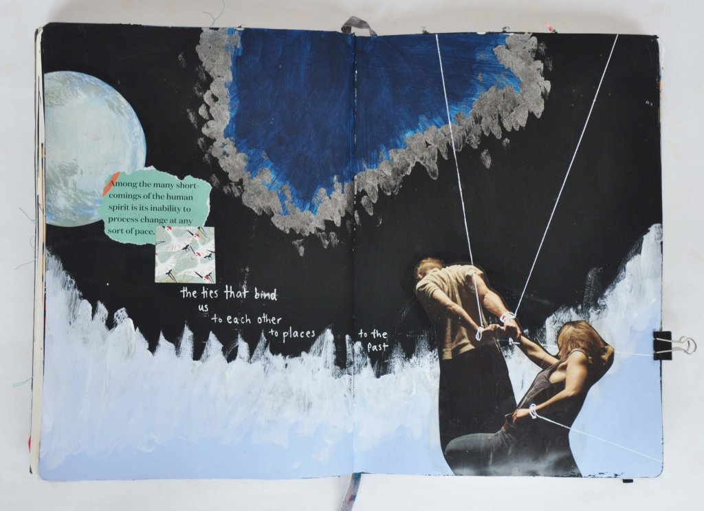 creative self-care, art journaling prompts