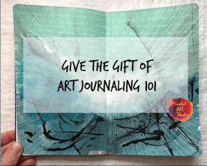 Art Journaling 101 Gift Certificate
