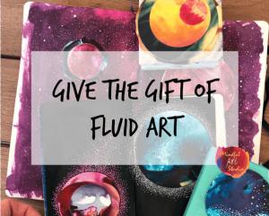 Fluid Art Gift Certificate