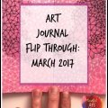 art journal tour, moleskine sketchbook tour