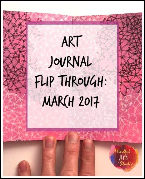Art Journal Flip Through: March 2017
