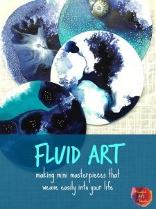 Fluid Art, Fluid art journaling, art journaling class, Art journal classes, online art journaling class, how to make an art journal, what is an art journal, art journal inspiration