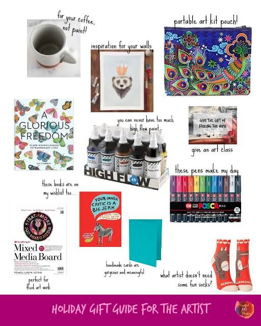 gifts for artists, what to buy an artist, gifts for creative people
