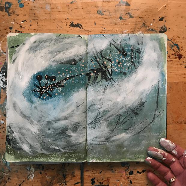 art journaling techniques, art journal tutorials, art journaling tutorials