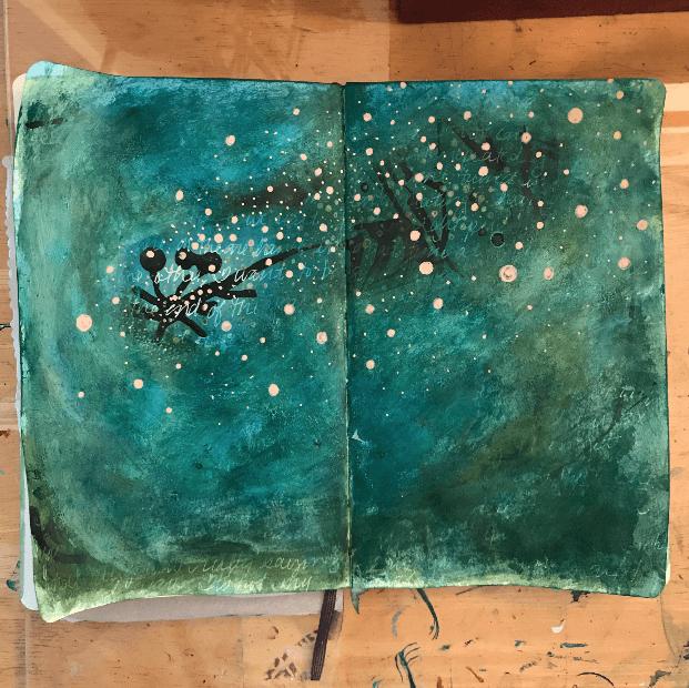 art journaling ideas, creative art journal ideas