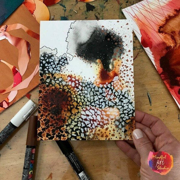 painting for adults, how to be an artist, what your art and your coffee have in common