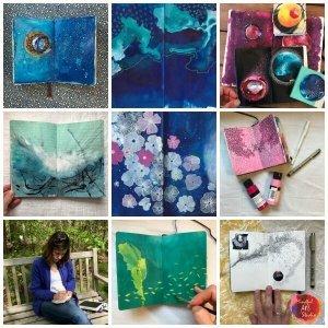 Art Journaling Collage