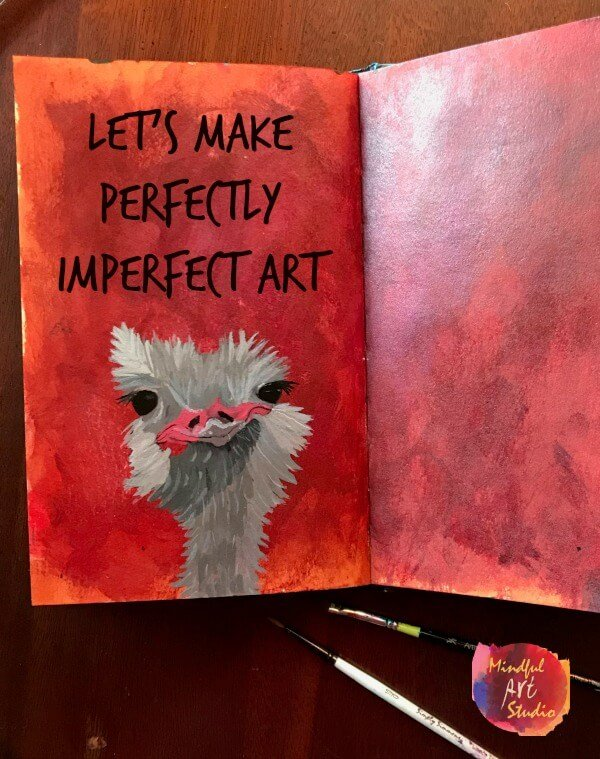 Let's Make Perfectly Imperfect Art