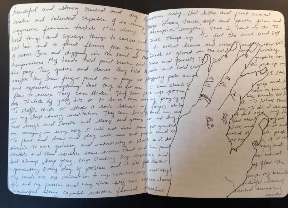 intuitive art journaling