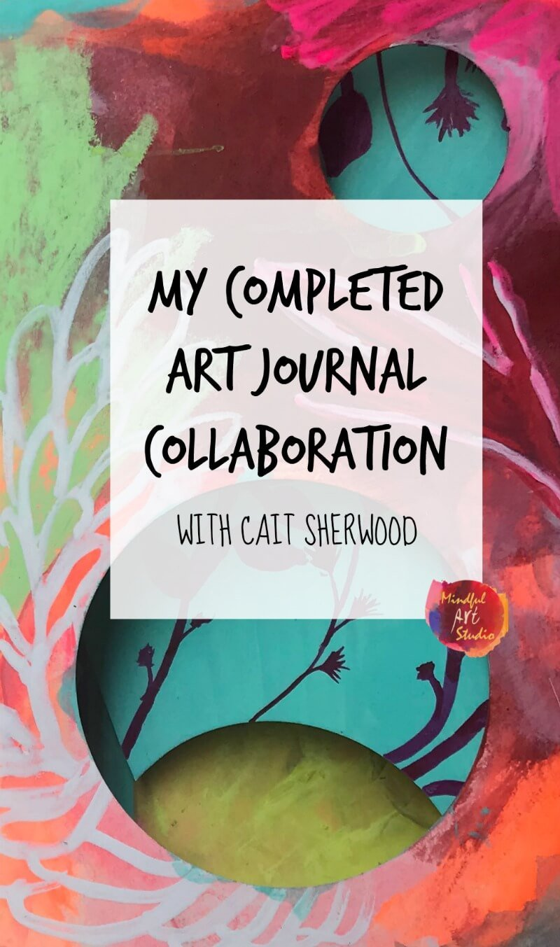My Completed Collaborative Art Journal