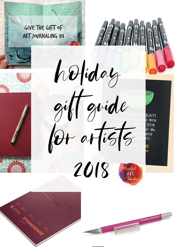 My Holiday Gift Guide for Artists 2018