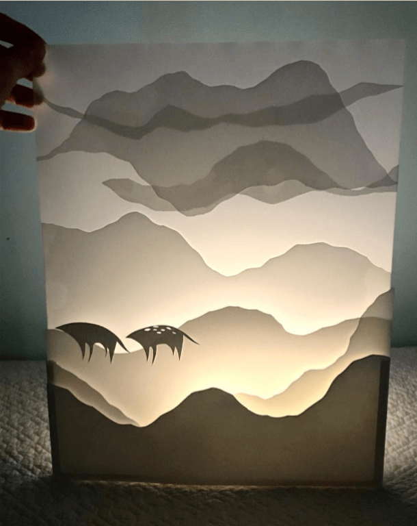 shadow box paper cut, paper cutting ideas, paper cut patterns