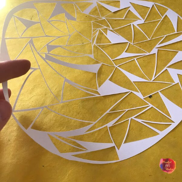 how to do paper cutting, paper cut designs, paper cut art,