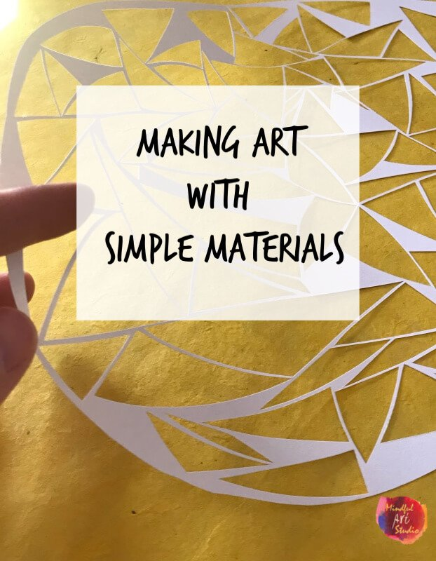 Making Art with Simple Materials