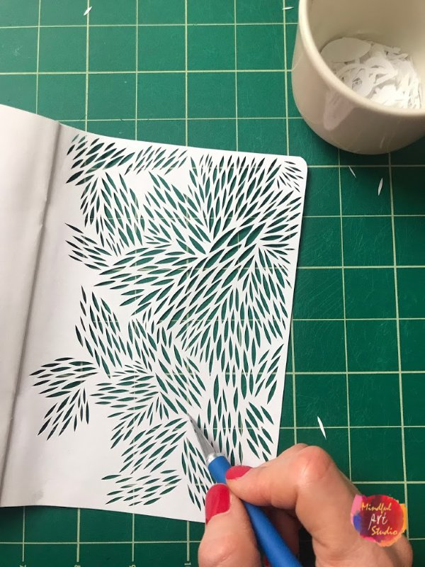 paper cut art journal, paper cut tutorial, paper cutting ideas, paper cut for beginners, paper cut patterns