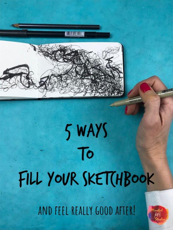 5 Ways to Fill Your Sketchbook