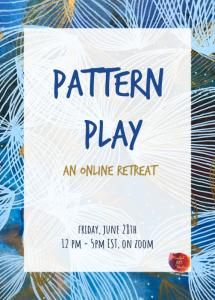 pattern play, surface pattern design, mark making
