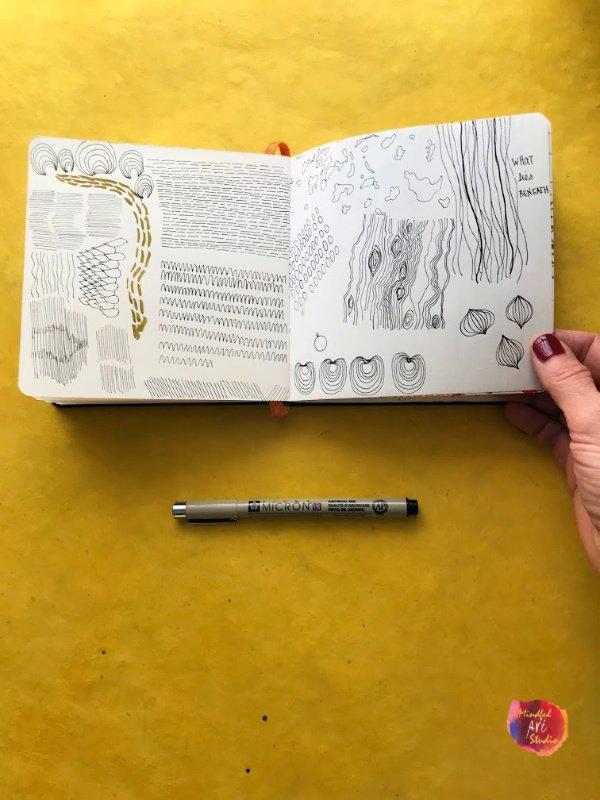Sketchbook Drawing Ideas List