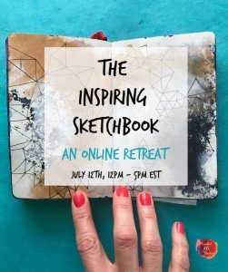The inspiring Sketchbook, sketchbook class, sketchbook ideas