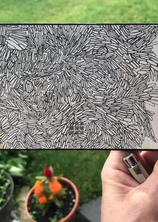 art journal patterns, patterns in art journal
