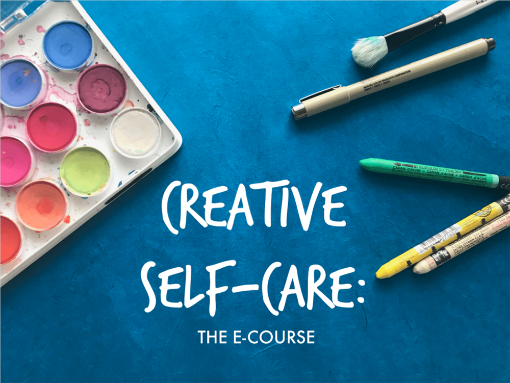 creative self-care, creative self-care ideas