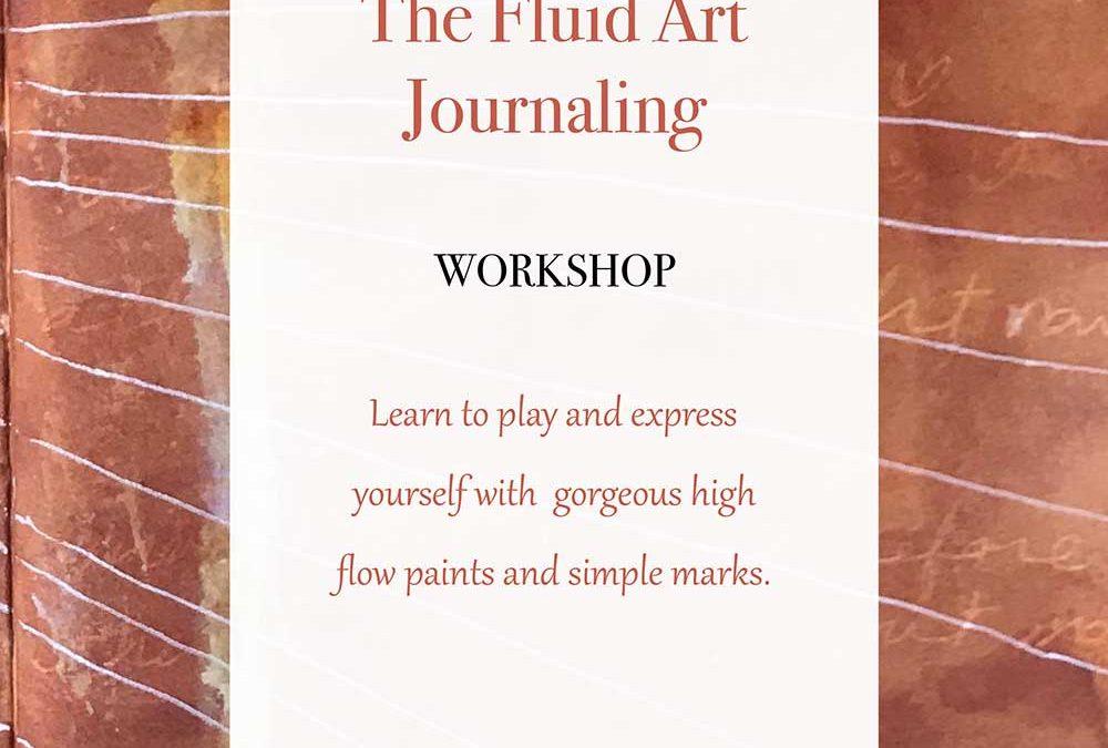 Fluid Art Journaling Workshop