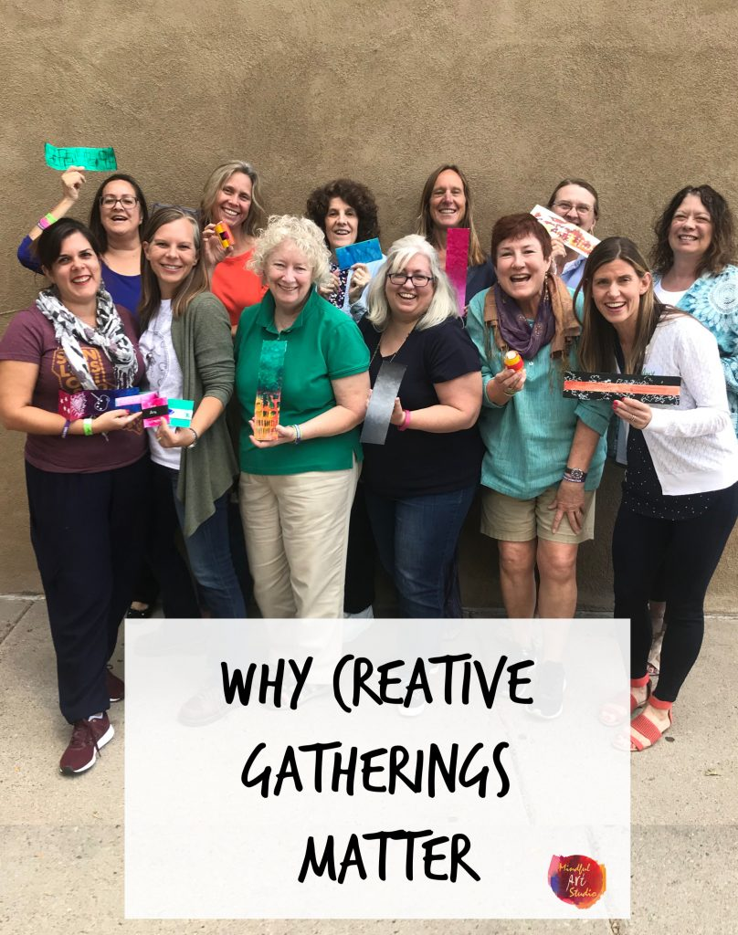 Gathering of the Creatives, hand made books, art journaling ideas, art journal, art journal ideas, creative gathering, creative retreat, art retreat Santa Fe