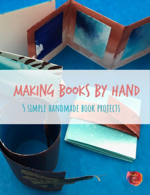 handmade books, handmade book tutorial, how to make books by hand