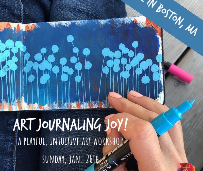 Art Journaling Joy!