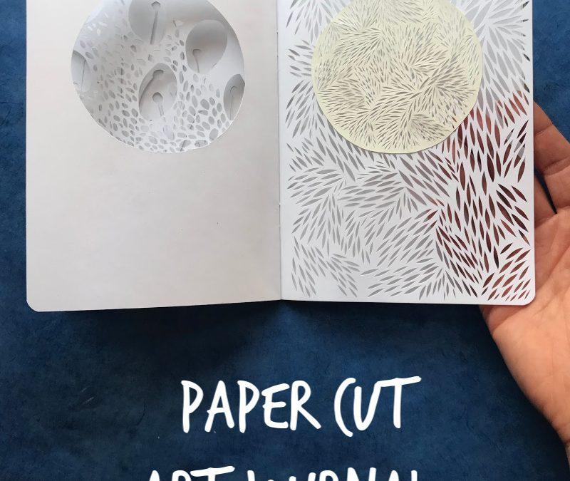 Paper Cut Art Journal
