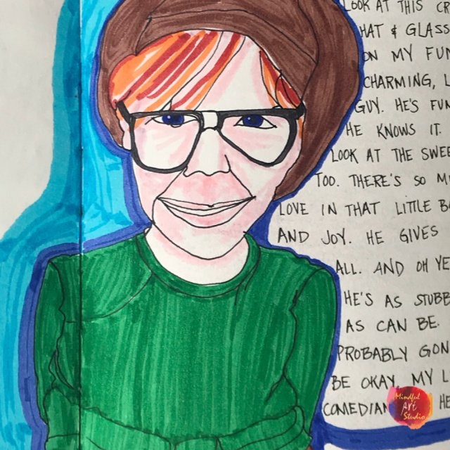 online portrait class, online drawing class