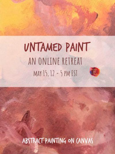 Online painting workshop, online art classes,
