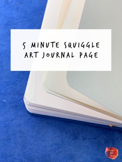 5 minute art journal prompts