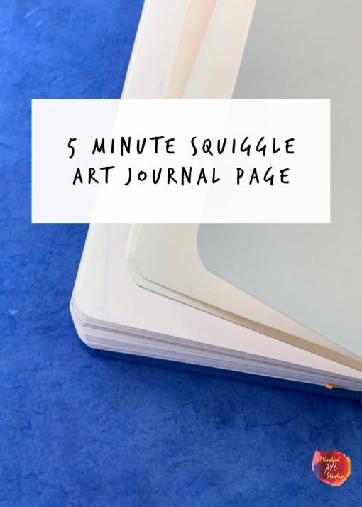 5 minute art journal prompts