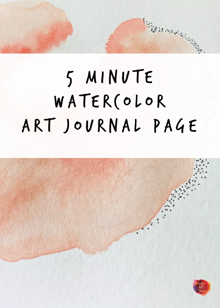 5 minute watercolor prompts