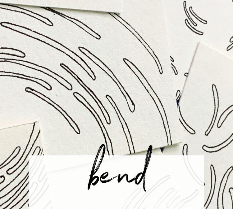 Bend: A Slow Drawing Pattern