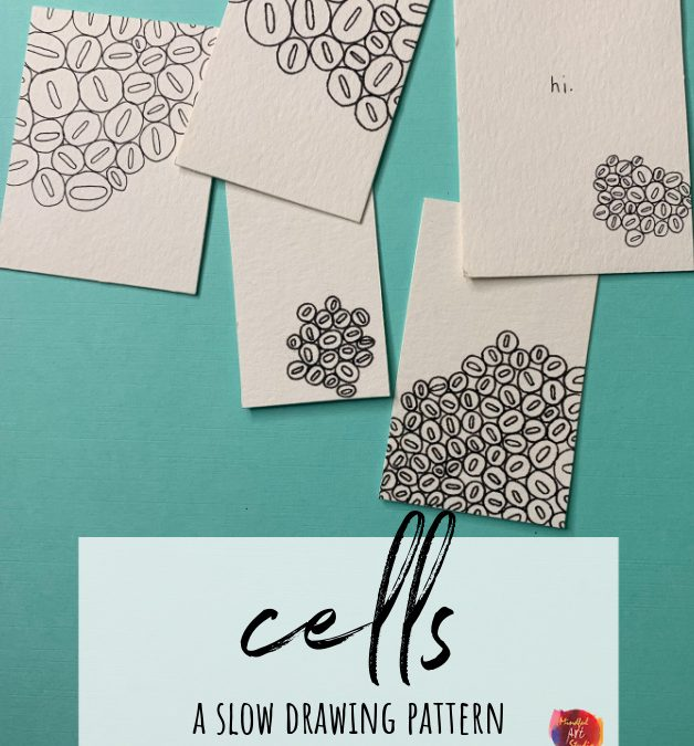 Cells: A Slow Drawing Pattern