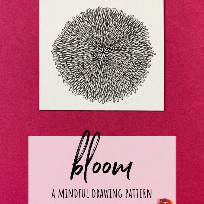 Bloom: A Slow Drawing Pattern
