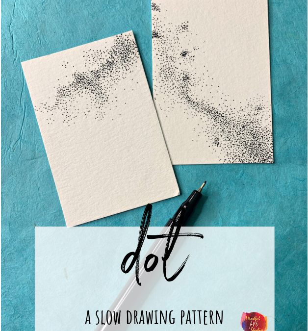 Dot: A Slow Drawing Pattern