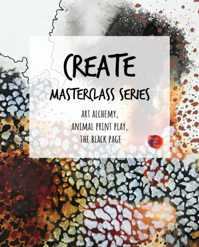 online art journaling class, online art classes, online fluid art class