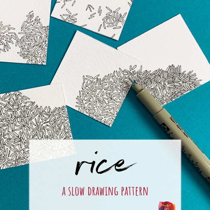 Rice: A Slow Drawing Pattern