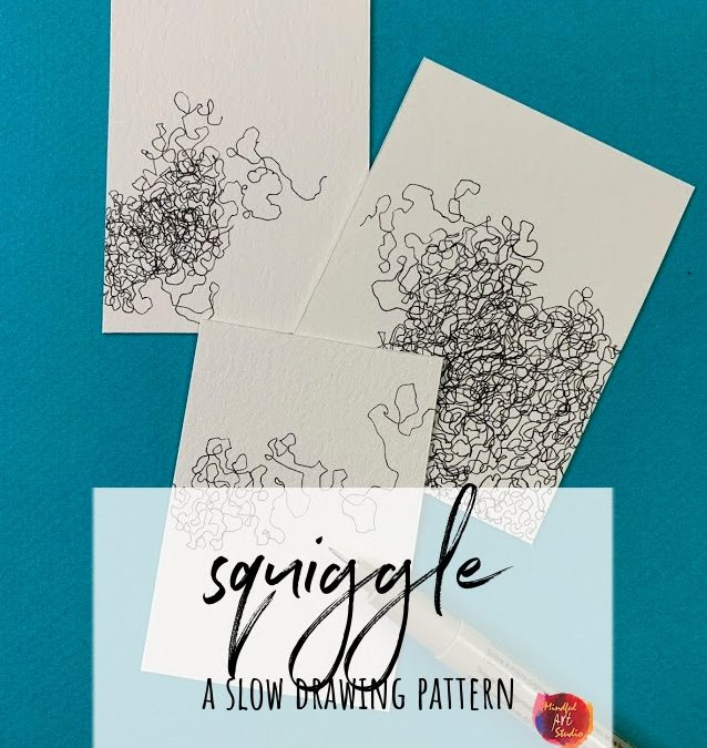 Squiggle: A Slow Drawing Pattern