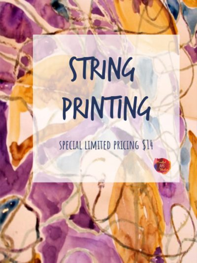 String Printing Technique