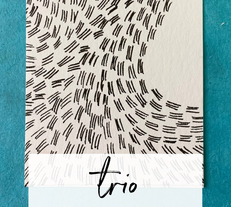 Trio: A Slow Drawing Pattern