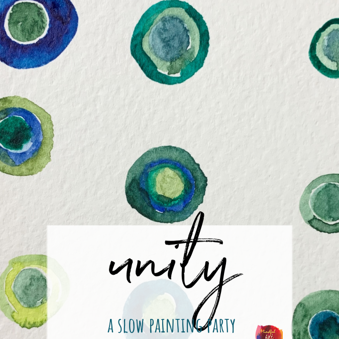 Unity: A Mindful Painting Pattern