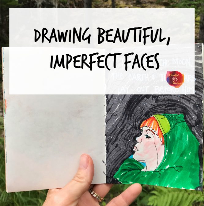 Drawing Beautiful & Imperfect Faces